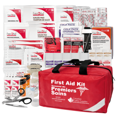 CSA Type 3 Intermediate First Aid Kit - Medium (26-50 Workers)Trousse de premiers soins interm�diaire CSA Type 3 - Moyenne (26 � 50 travailleurs)